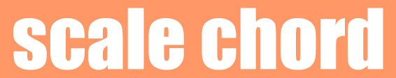 scalechord(スケールコード)