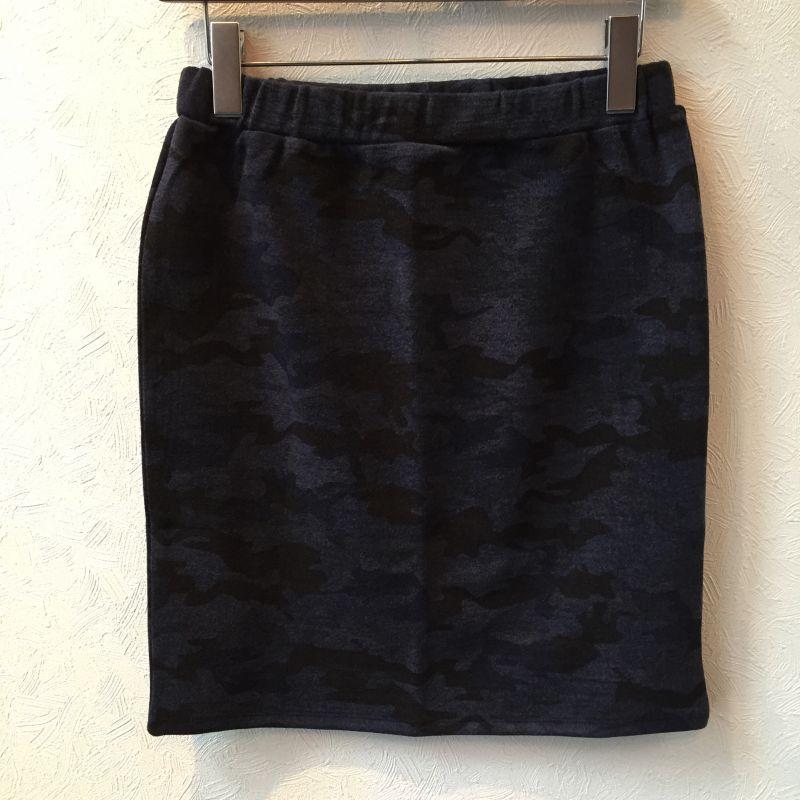 画像1: カモフラージュ柄ジャージタイトスカート  カモフラージュ柄ジャージタイトスカート 販売